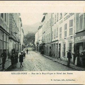 Hôtel des Postes, Solliès-Pont