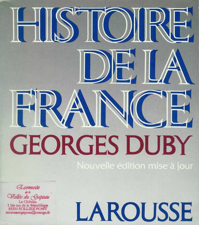 Histoire de la France, G. Duby