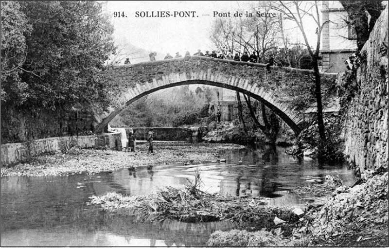 Barrage du Capellan Solliès-Pont