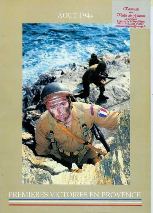 Août 1944, Premières victoires en Provence