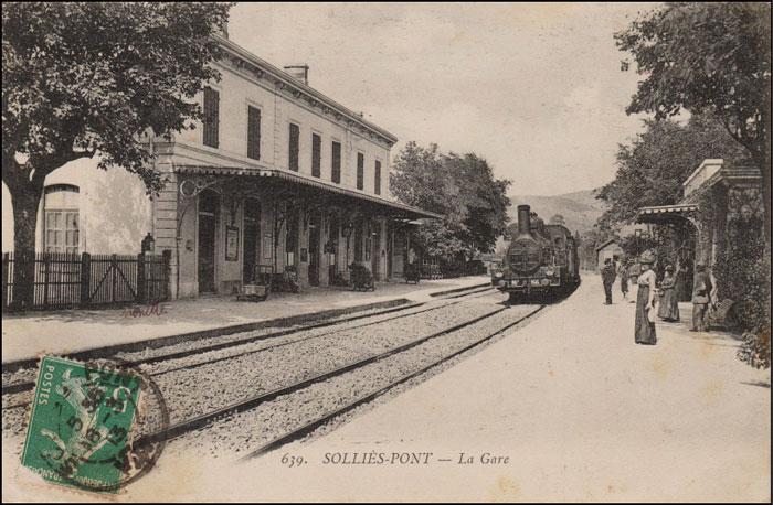 Gare de Solliès-Pont
