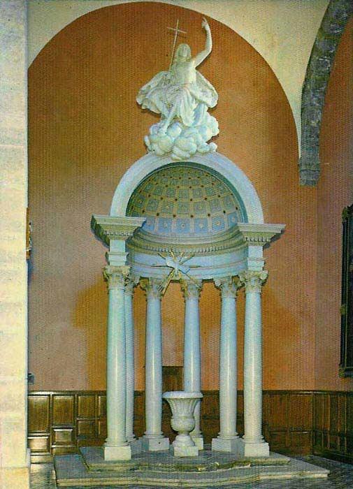Fonts baptismaux, église Saint-Jean-Baptiste