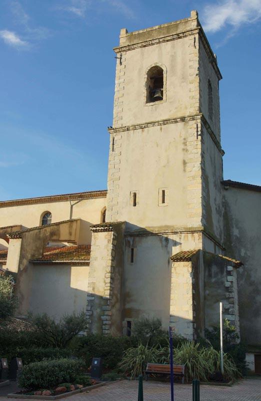 Clocher de l'église Saint-Jean-Baptiste, Solliès-Pont
