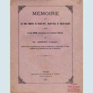 Mémoire, Arène Casimir 350x350