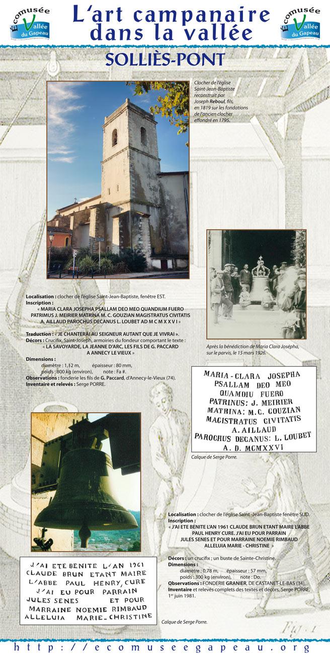 Art campanaire 10 Solliès-Pont 3