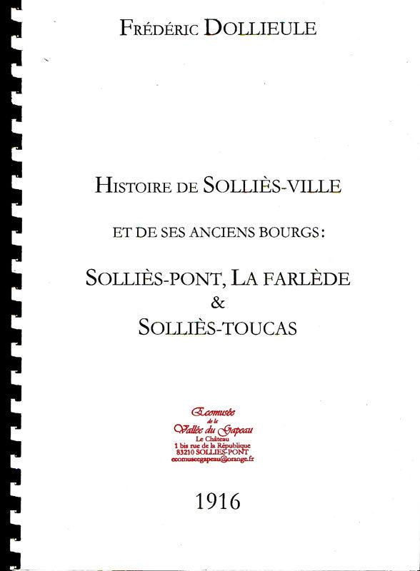 Histoire de Solliès-Ville, Frédéric Dollieule