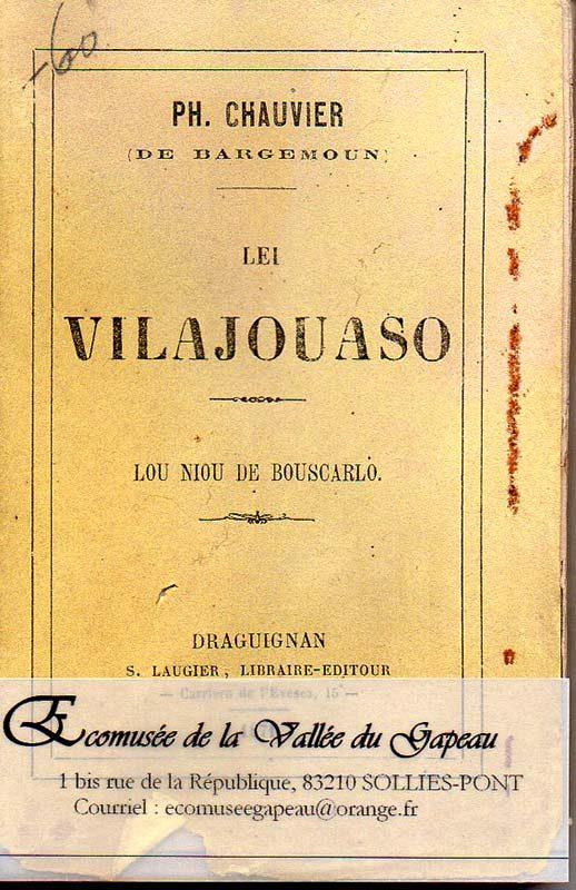 Lei Vilajouaso, lou niou de bouscarlo, Ph Chauvier