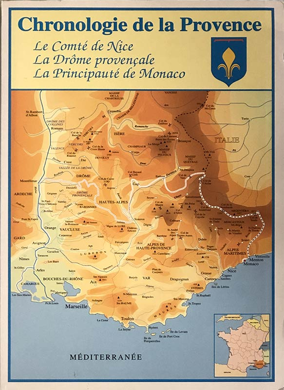 Chronologie de la Provence