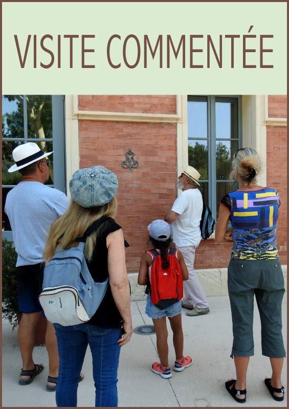 Visite-commentée du centre-ville de Solliès-Pont.