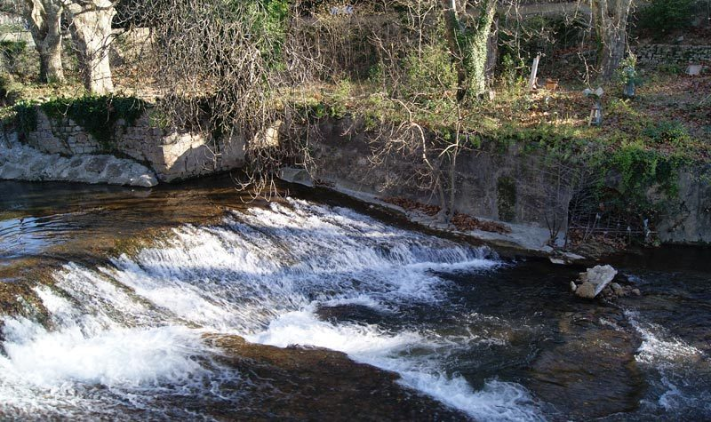 Barrage Solliès-Toucas la Guiranne