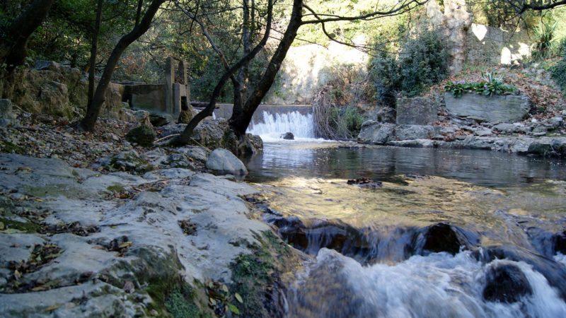 Le barrage des Tourettes, Solliès-Toucas