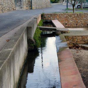 Canal de la Font du Ton, Solliès-Toucas.