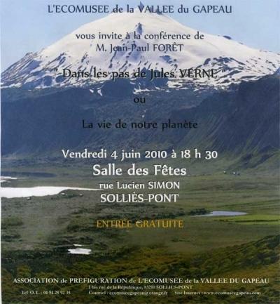 Dans les pas de Jules Vernes, conférence, Forêt