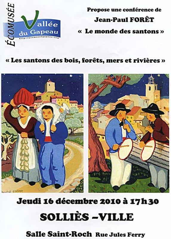 Le monde des santons, par Jean-Paul Forêt