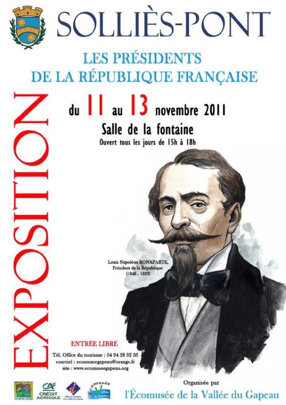 Les présidents de la République française (1).
