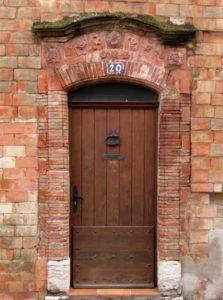 Porte de la maison du tuilier
