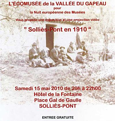 Solliès-Pont en 1910.