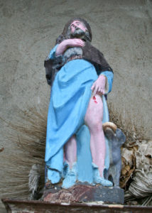 Oratoire Saint-Roch, statuette, La Farlède