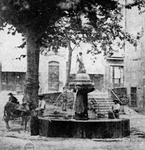 Fontaine Saint-Jean-Baptiste, Solliès-Pont.