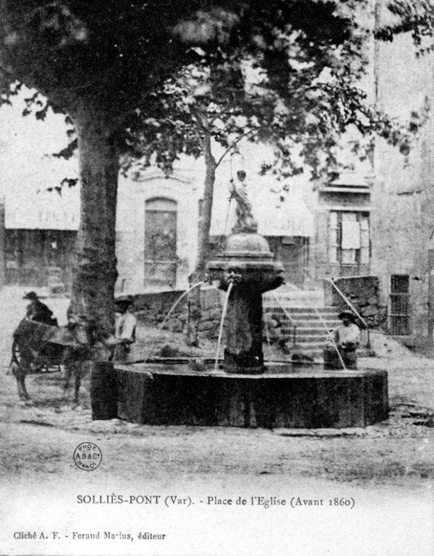 Fontaine Saint-Jean-Baptiste à Solliès-Pont