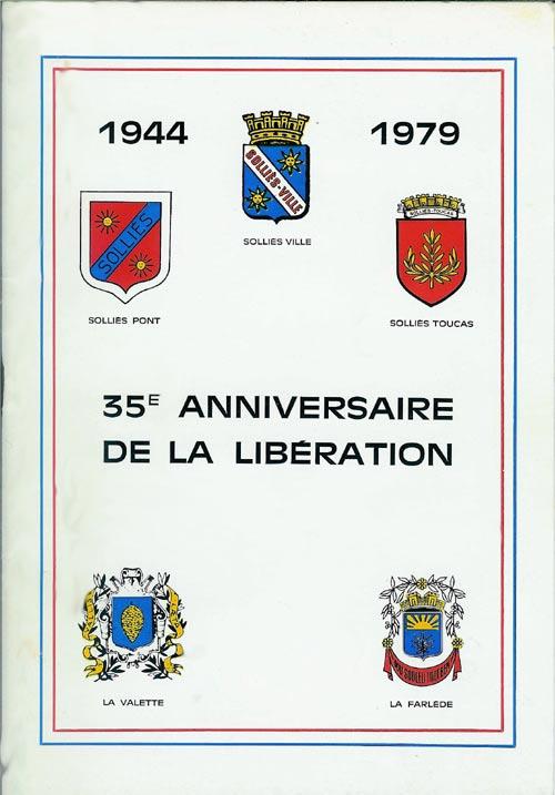 35e anniversaire de la Libération