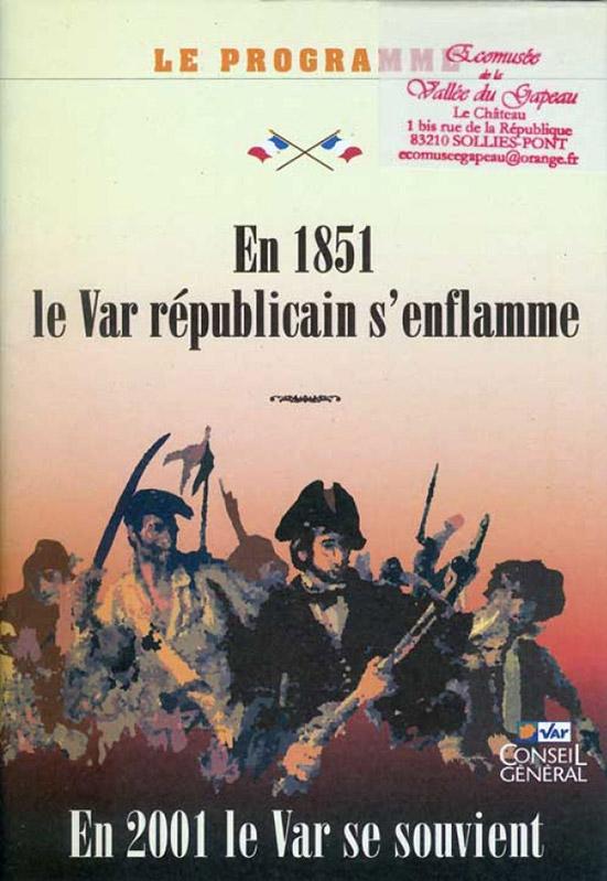 En 1851 le Var républicain s'enflamme