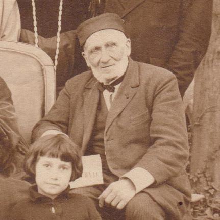 Frédéric Dollieule (portrait) été 1924