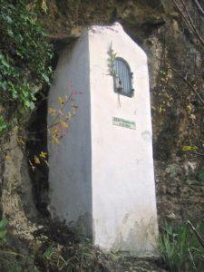 Oratoire notre-dame de Lourdes, Signes