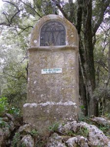Oratoire Notre-Dame des Anges, Signes