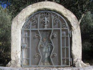 Oratoire Saint-Joseph, Signes (détail)