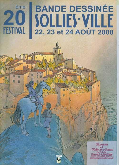 Catalogue du 20e festival de BD de Solliès-Ville