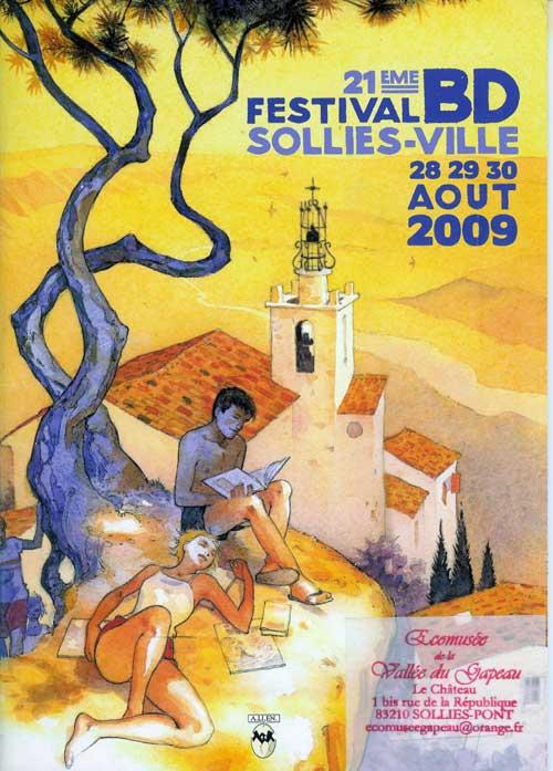Catalogue du 21e festival de BD de Solliès-Ville