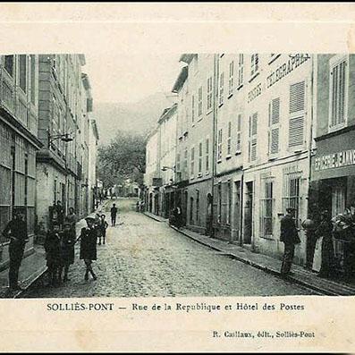 L'hôtel des Postes, Solliès-Pont