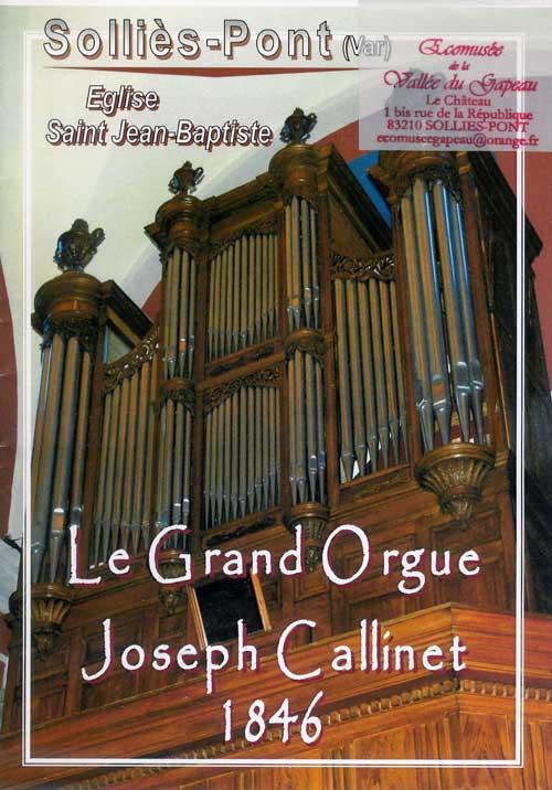 Le grand orgue Joseph Callinet.