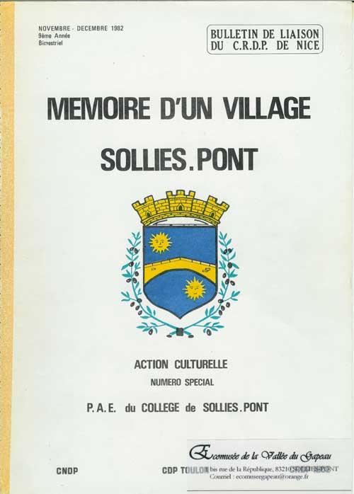 Mémoire d'un village Solliès-Pont
