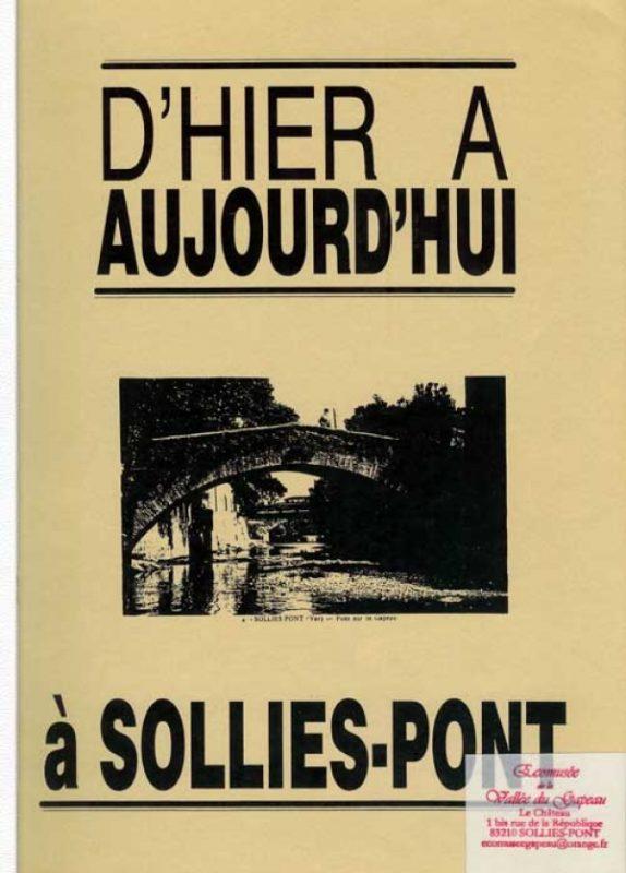 Bulletin de l'Association d'Hier à Aujourd'hui, Solliès-Pont.