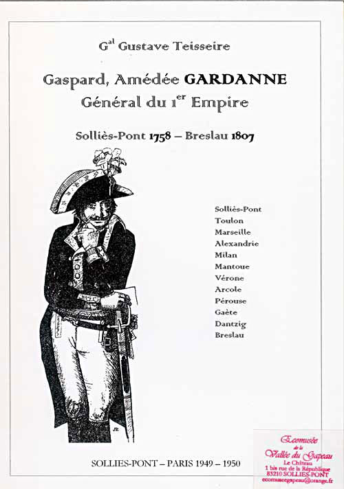 Gaspard Amédée Gardanne par Teisseire Gustave.