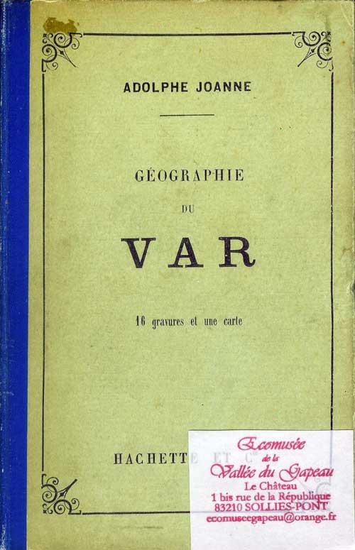Géographie du Var, Adolphe Joanne.