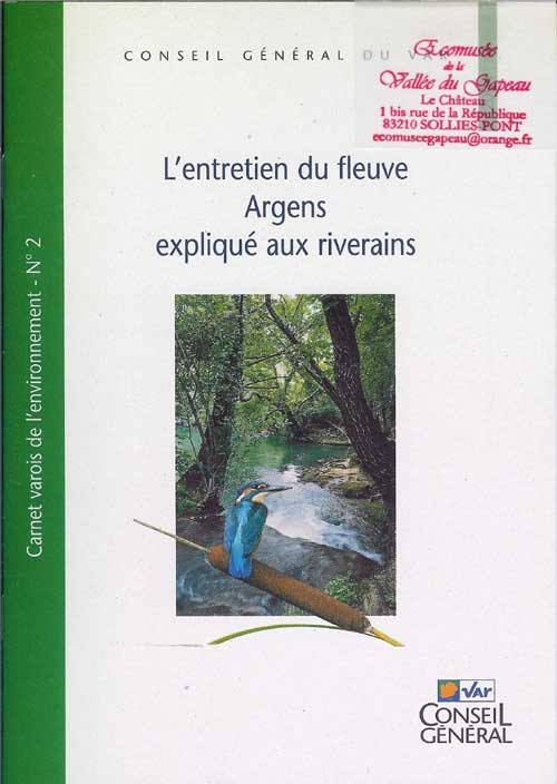 L'entretien du fleuve Argens expliqué aux riverains.