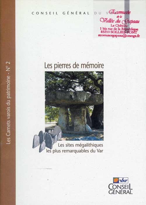 Les pierres de mémoire