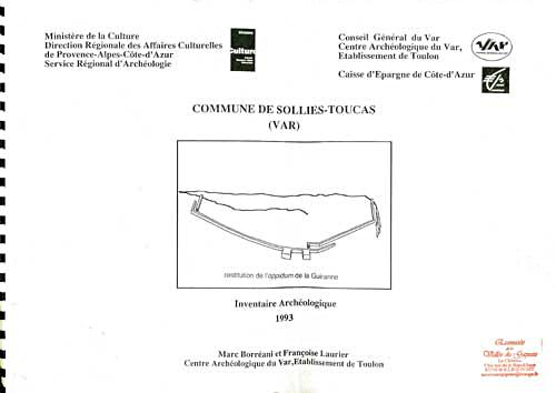 Commune de Solliès-Toucas, Inventaire archéologique