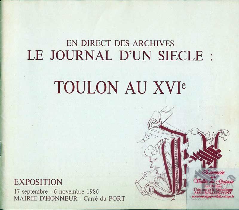 Toulon au 16e
