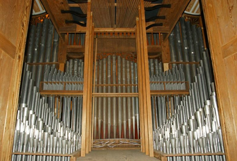 Grand orgue Callinet, jeu de tuyaux.