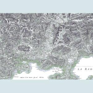 Carte de Cassin n° 155, Toulon 1778-1779