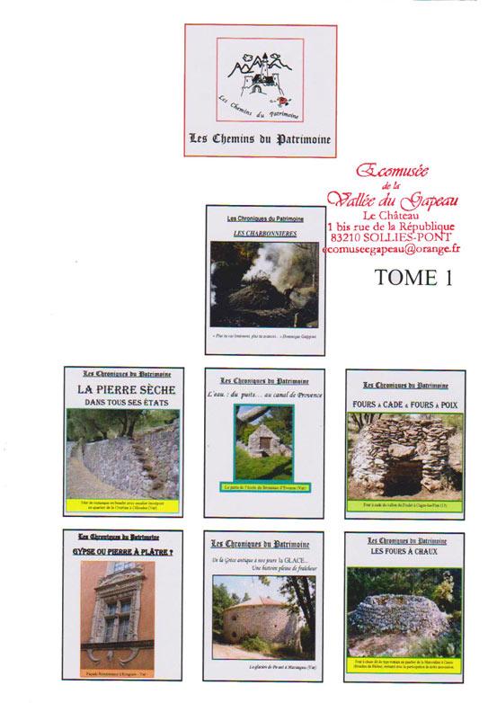 Les Chemins du Patrimoine, Raoul Décugis, Tome l.