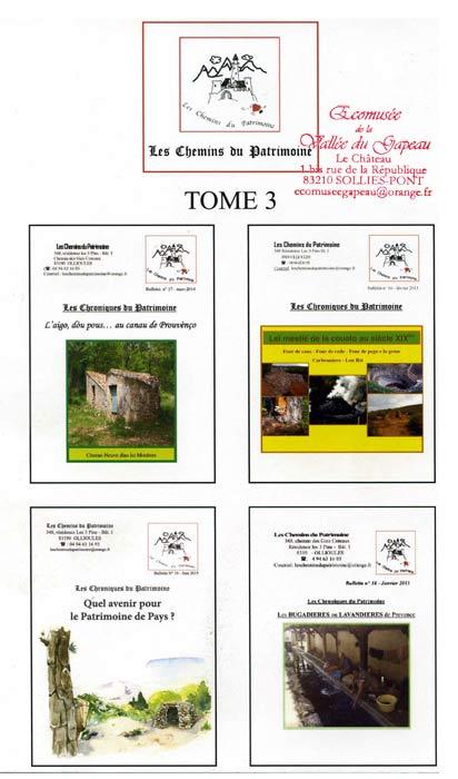 Les Chemins du Patrimoine, Raoul Décugis, Tome lll.