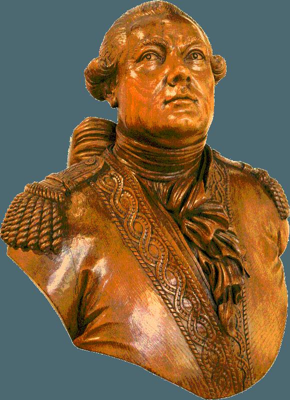 Buste d'Antoine Groignard.