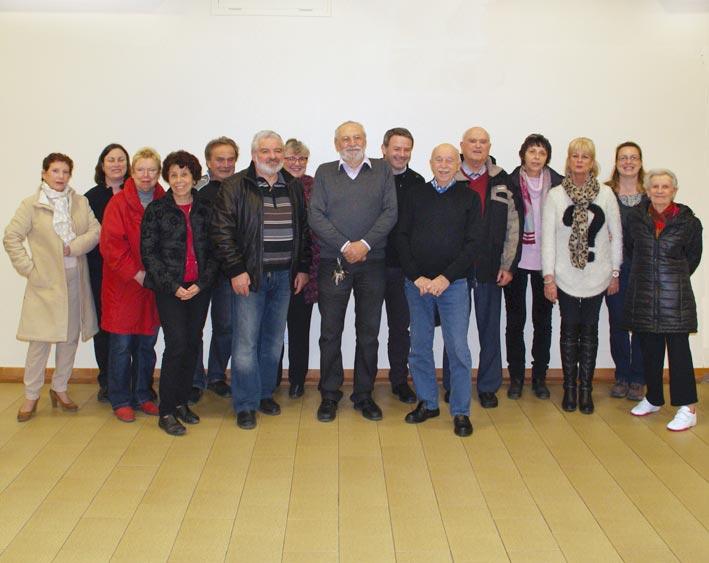 Assemblée générale 2016. Les participants.