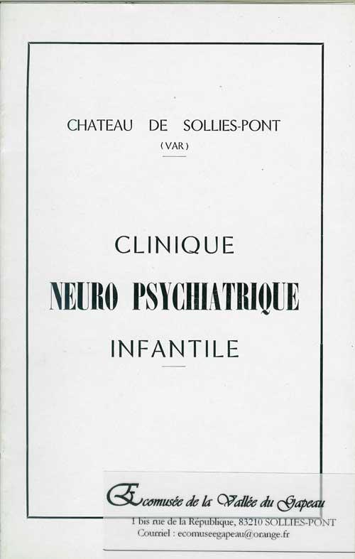 Clinique neuro psychiatrique infantile Aubin