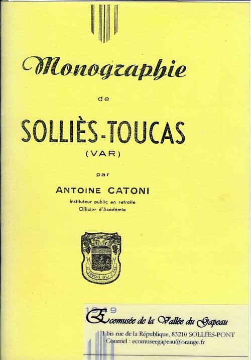 Monographie de Solliès-Toucas